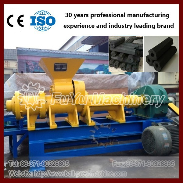 Coal rods briquette machine