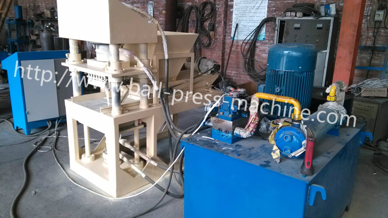 Hydraulic shisha tablet press machine