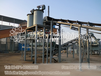 520 powder ball press machine production site