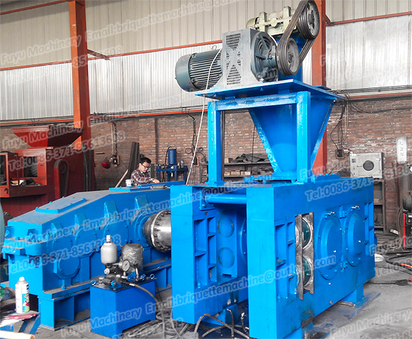 The application of pre - pressing spiral device in dry powder ball press machine